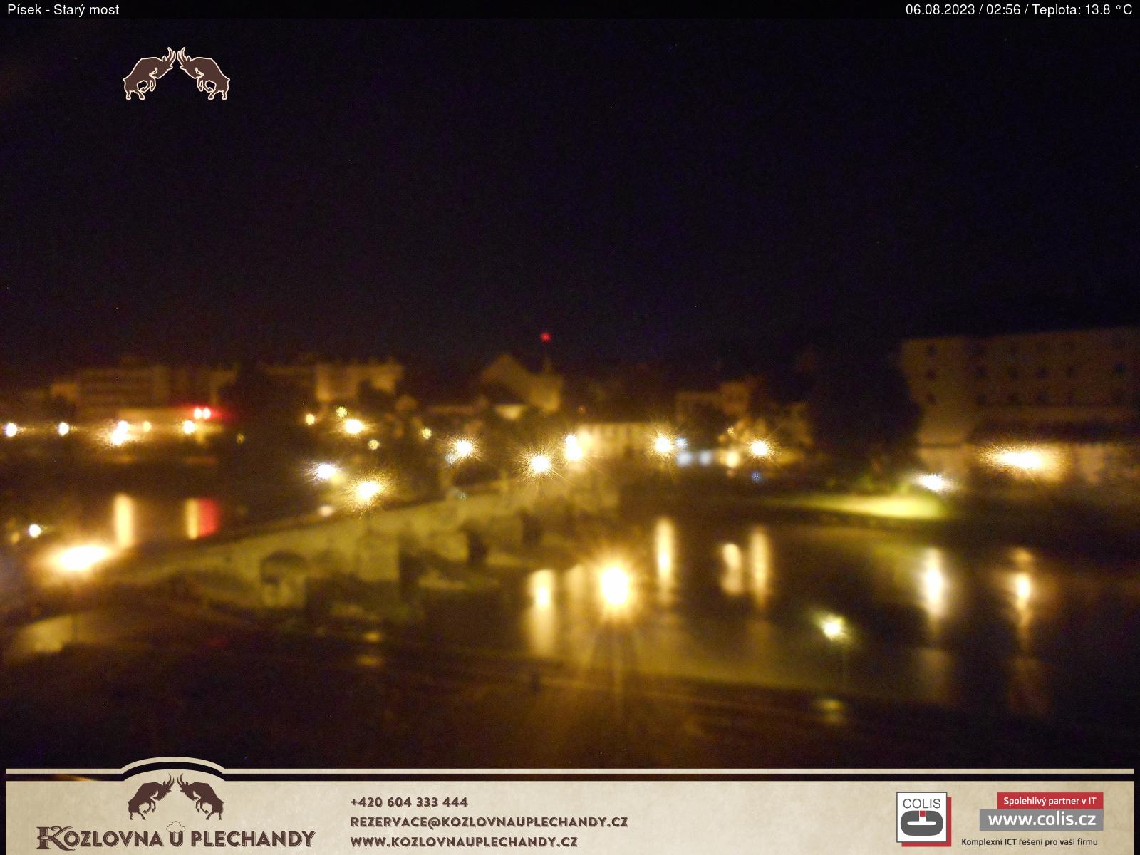 Starý most v Písku z Kozlovny